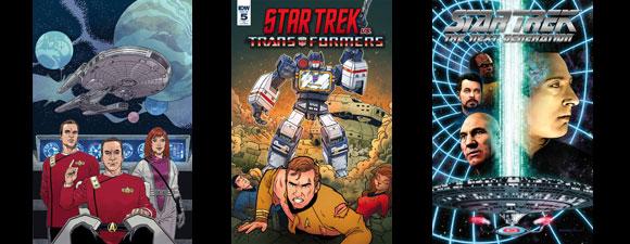 IDW Publishing Trek Comics For January 2019
