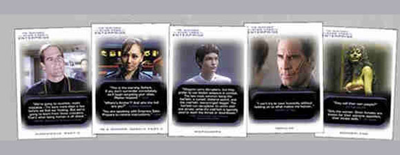 2018 Rittenhouse Star Trek Enterprise Collectible Cards