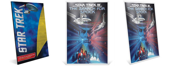 Star Trek III: The Search For Spock Silver Foil