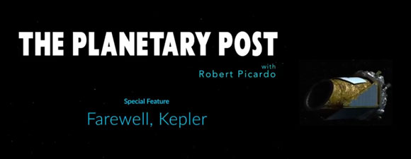 The Planetary Post – Farewell Kepler
