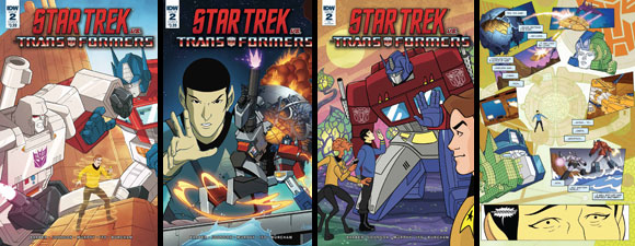 Star Trek Vs. Transformers #2