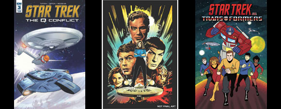 IDW Publishing Star Trek Comics For March 2019