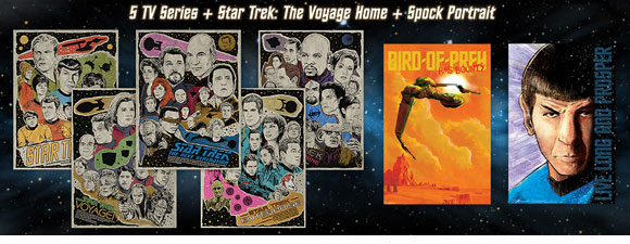 New Trek-Themed Posters From Bye Bye, Robot