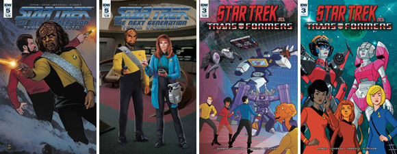 Two New Star Trek IDW Comics