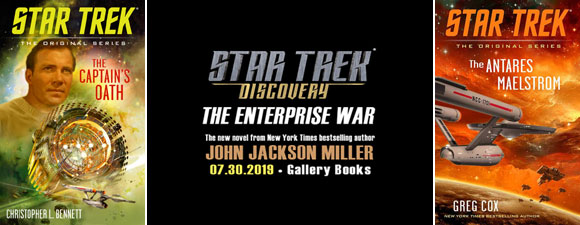 Star Trek Book Update – Original Series And Discovery Books