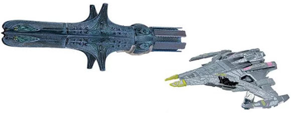 Five New Eaglemoss Trek Starships