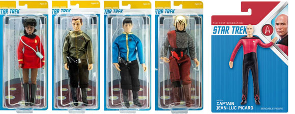 New Original Series And The Next Generation Action Figures