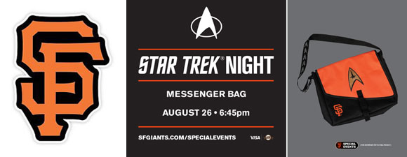 San Francisco Giants Star Trek Night