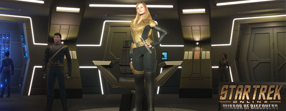 Star Trek Online – Mirror Of Discovery – Featuring Killy Tilly