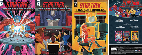 Star Trek Vs Transformers #4 Comic