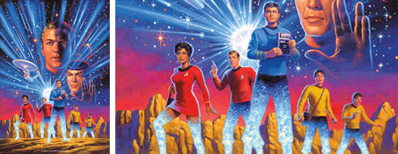 Star Trek: Year Five Comic Series