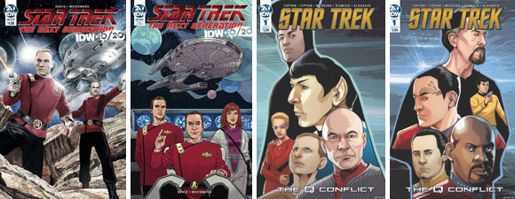 IDW Publishing Star Trek Comics Out This Week