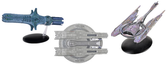 Eaglemoss Starships And A Subscriber Survey