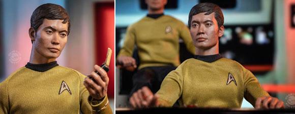 QMx Star Trek: TOS Sulu Figure