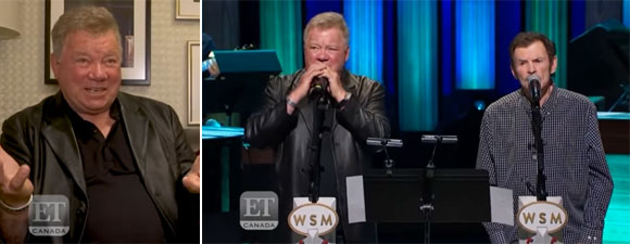 William Shatner's Grand Ole Opry Appearance
