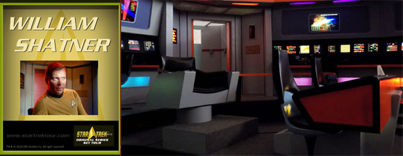 Shatner Returning To The Star Trek Original Series Set Tour