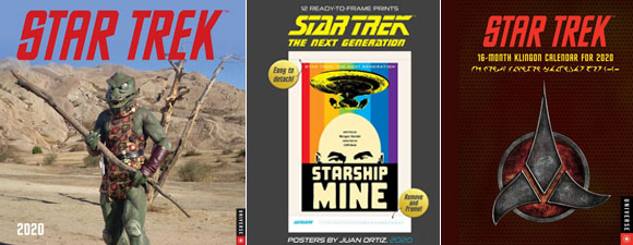 2020 Star Trek Calendars