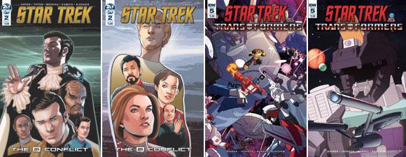 New Star Trek IDW Publishing Comics