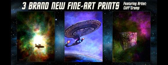 New Trek Prints From Bye Bye Robot