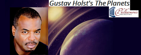 Burton To Narrate Gustav Holst's The Planets Concert