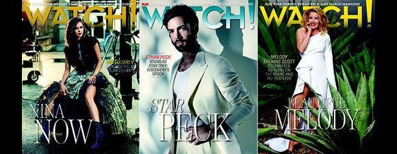 Peck On Watch! Magazine Cover