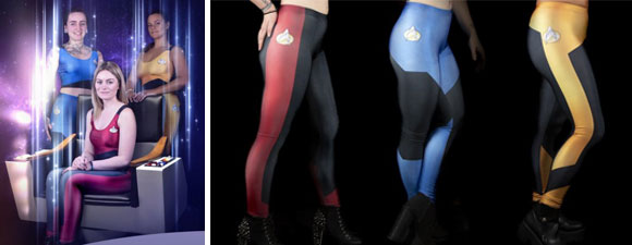 Trek-Themed Leggings From Wild Bangarang