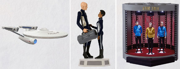 Hallmark 2019 Star Trek Ornaments