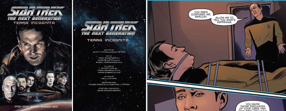 Star Trek: The Next Generation: Terra Incognita Comic