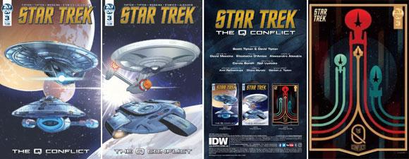 Star Trek Q Conflict #3