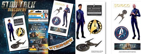 Star Trek: Discovery Stick-Upz Stickers