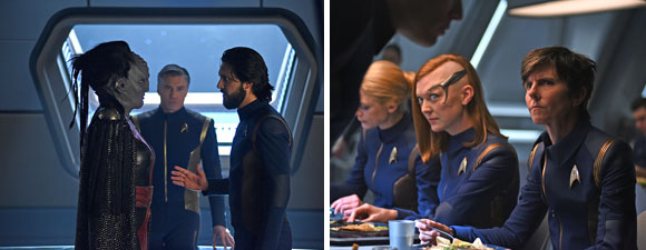 Nine New Photos From Discovery: Through The Valley of Shadows
