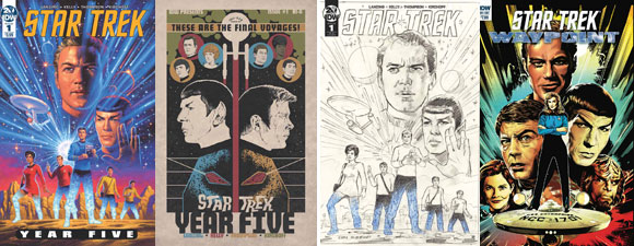 Two IDW Publishing Trek Comic Previews