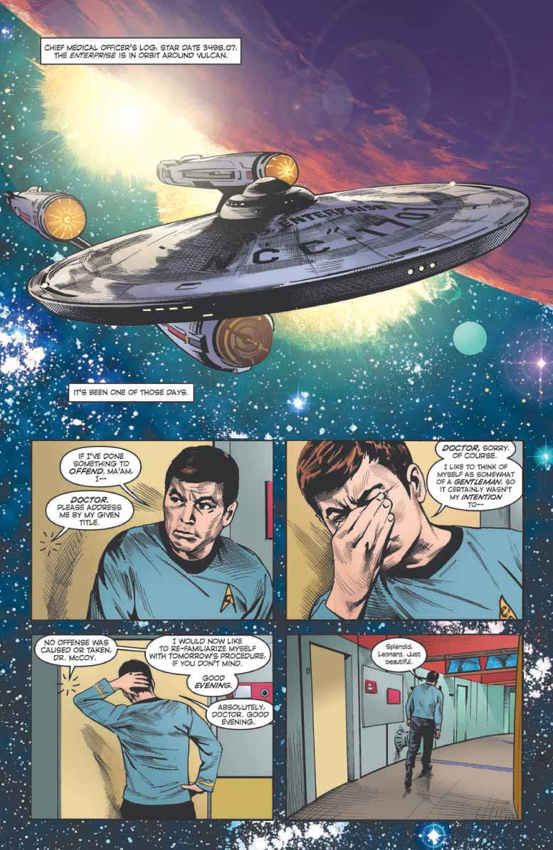 Two IDW Publishing Trek Comic Previews – TrekToday