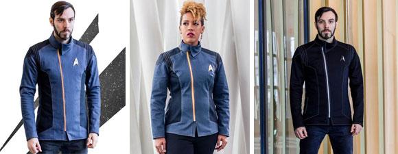 Volante Disco Star Trek 2235 Jackets