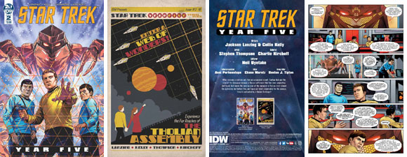 Star Trek: Year Five #2 Comic Out Now