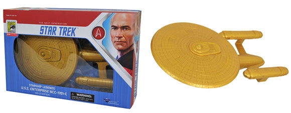 Star Trek Starship Legends Gold Enterprise NCC-1701-C