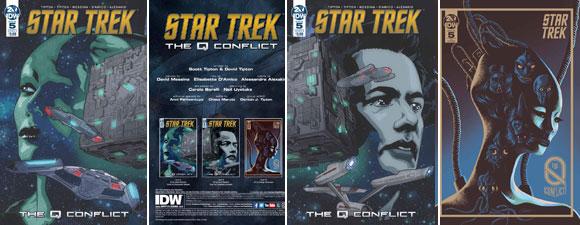 Star Trek: The Q Conflict #5