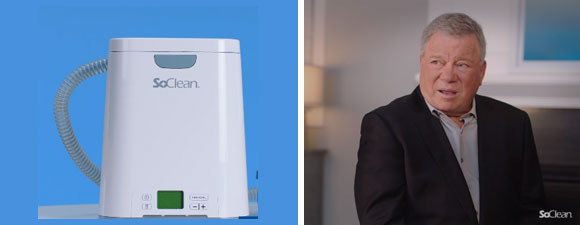 Shatner Is A New Spokesperson For SoClean