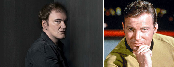 Shatner Supports Tarantino's R-Rated Trek Movie