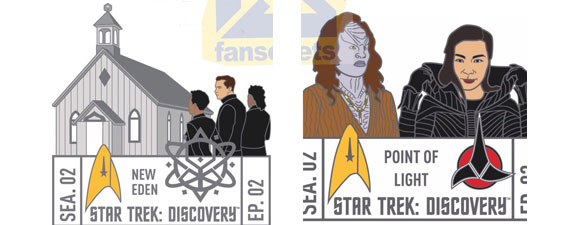 FanSets Star Trek: Discovery Season Two Pins
