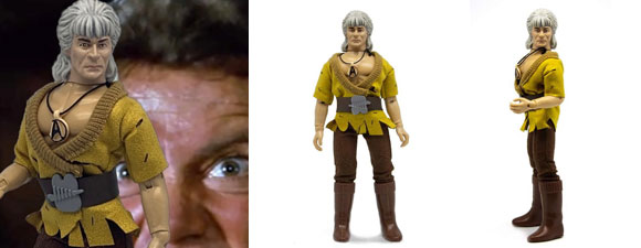 Mego's Khan Action Figure