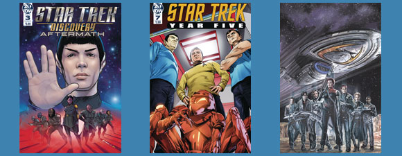 IDW Publishing Star Trek Comics For October