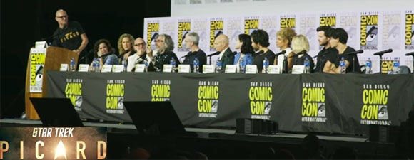 Watch The Full Comic-Con Star Trek: Picard Panel