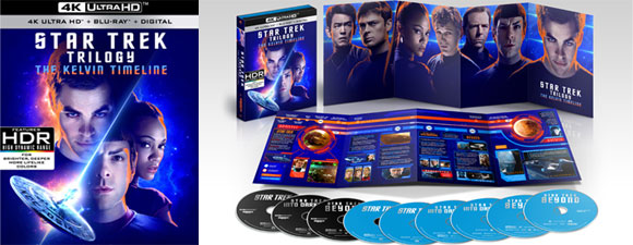 Star Trek Trilogy: The Kelvin Timeline 4K UHD Set