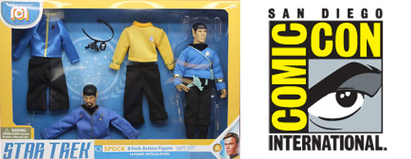 ThinkGeek Offers Spock Mego Figure Set At SDCC