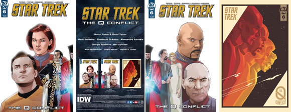 IDW Publishing's Star Trek: The Q Conflict #6