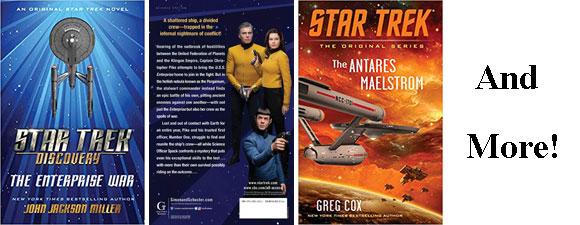 Star Trek Novels For July-Dec 2019