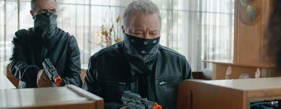 Shatner As The Bank Robber