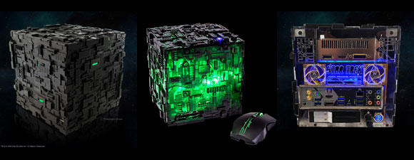 New Limited-Edition Borg Cube ITX PC
