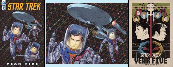 IDW Publishing Trek Comics For November